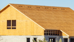 plywood roof deck - solid sheeting