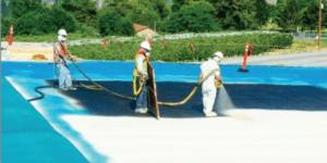Spray foam roof coating