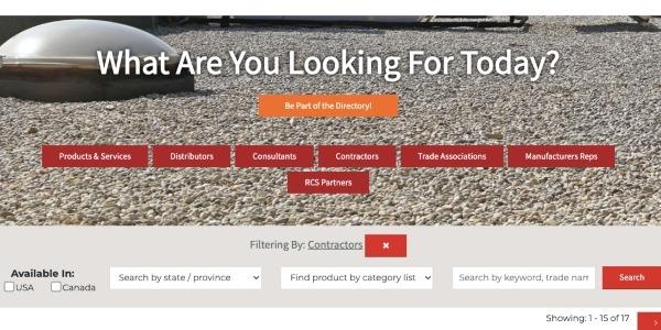 RCS contractor directory